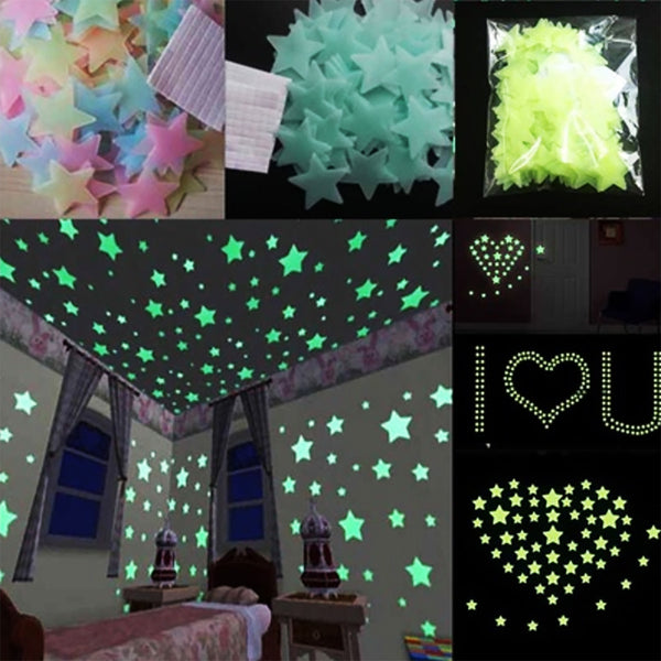 Glow In The Dark Wall Stars