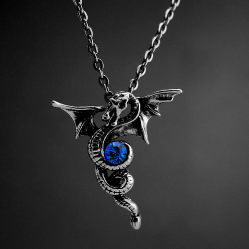 Spiral Dragon Necklace