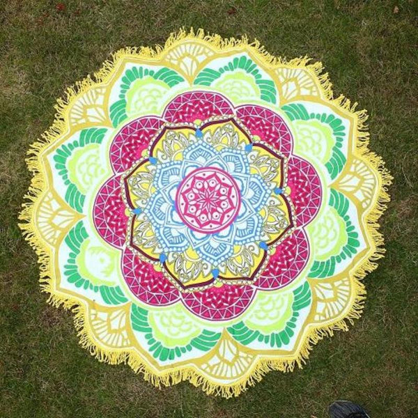 Custom Mandala Towel
