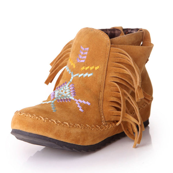 Native Style Ankle Boots