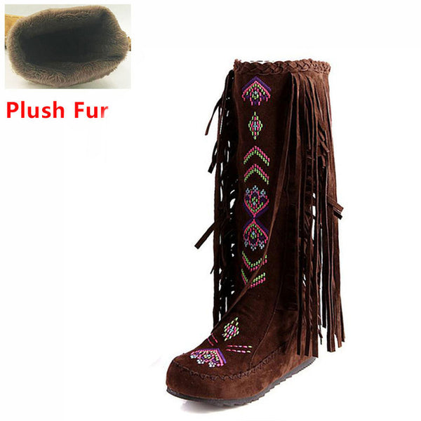 Custom Native Style Boots