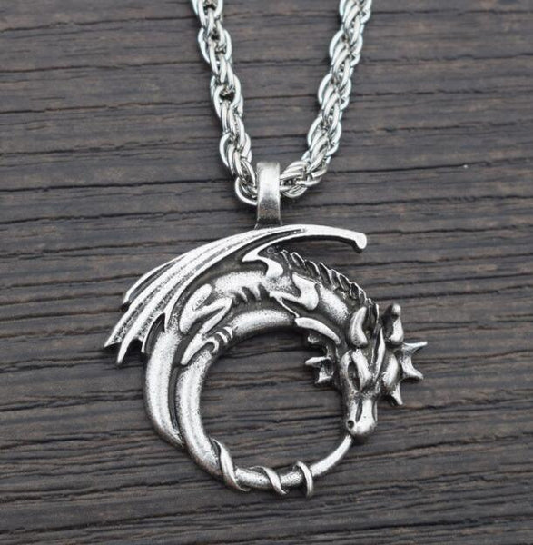 Tail Dragon Necklace