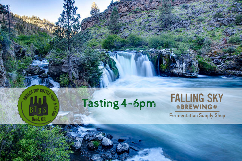 5/18 Tasting with Falling Sky Brewing