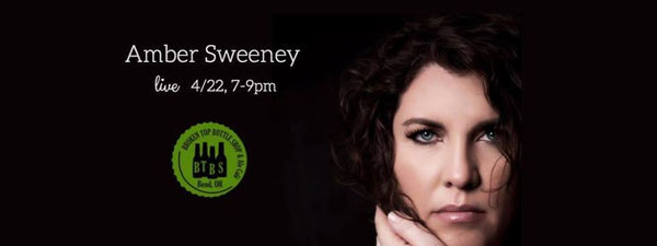 4/22  Live Music with Amber Sweeney