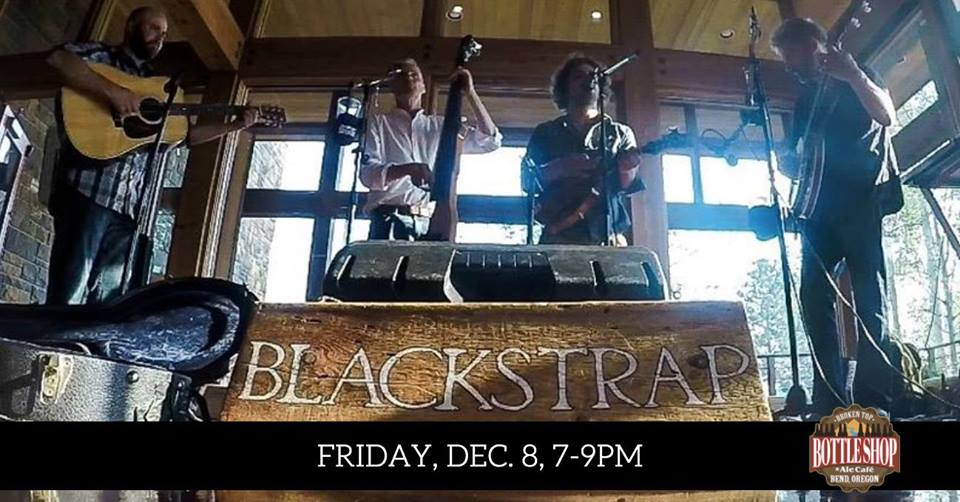 12/8  7-9pm  Live Music with Blackstrap Bluegrass