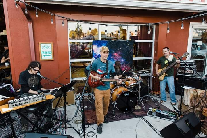10/26  7-9:30pm Live Music with Cosmic Evolution!