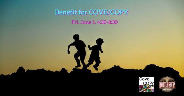 6/1  4:30-9pm  Fundraiser for Cove/Copy