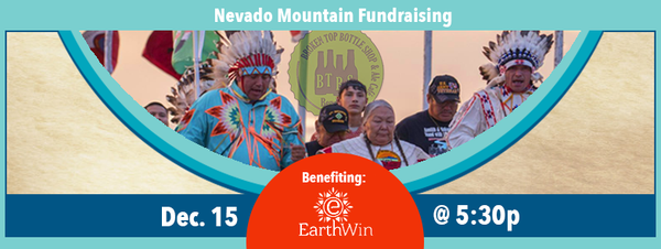12/15  5:30 pm  Fundraiser for Standing Rock Sioux Tribe
