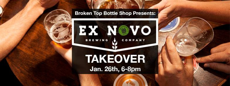 1/26 Ex Novo Tasting and Tap Takeover and Live Music