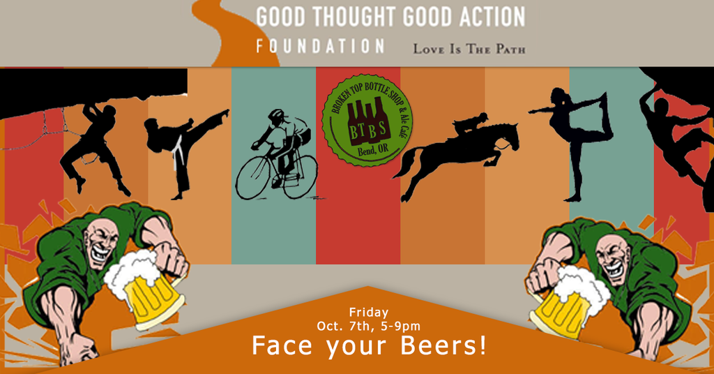 10/7  5-9pm  Fundraiser for Good Thought Good Action Foundation