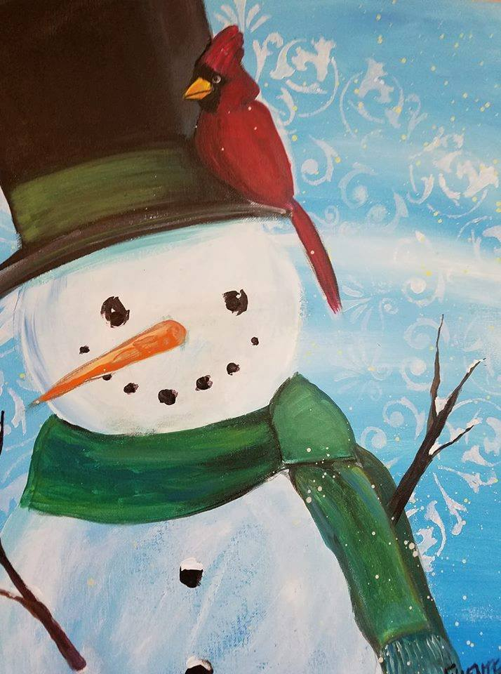 12/5  6-9pm  Paint and Sip with Judy Fuentes