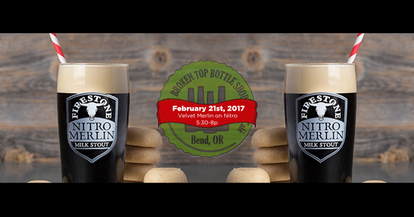 2/21  5:30-8pm  Firestone Walker Tap Takeover and Cookies!
