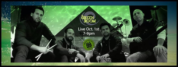 10/1  7-9pm  Live Music with The Green Room!