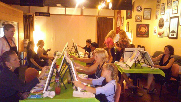 9/19  6-9pm  Paint and Sip