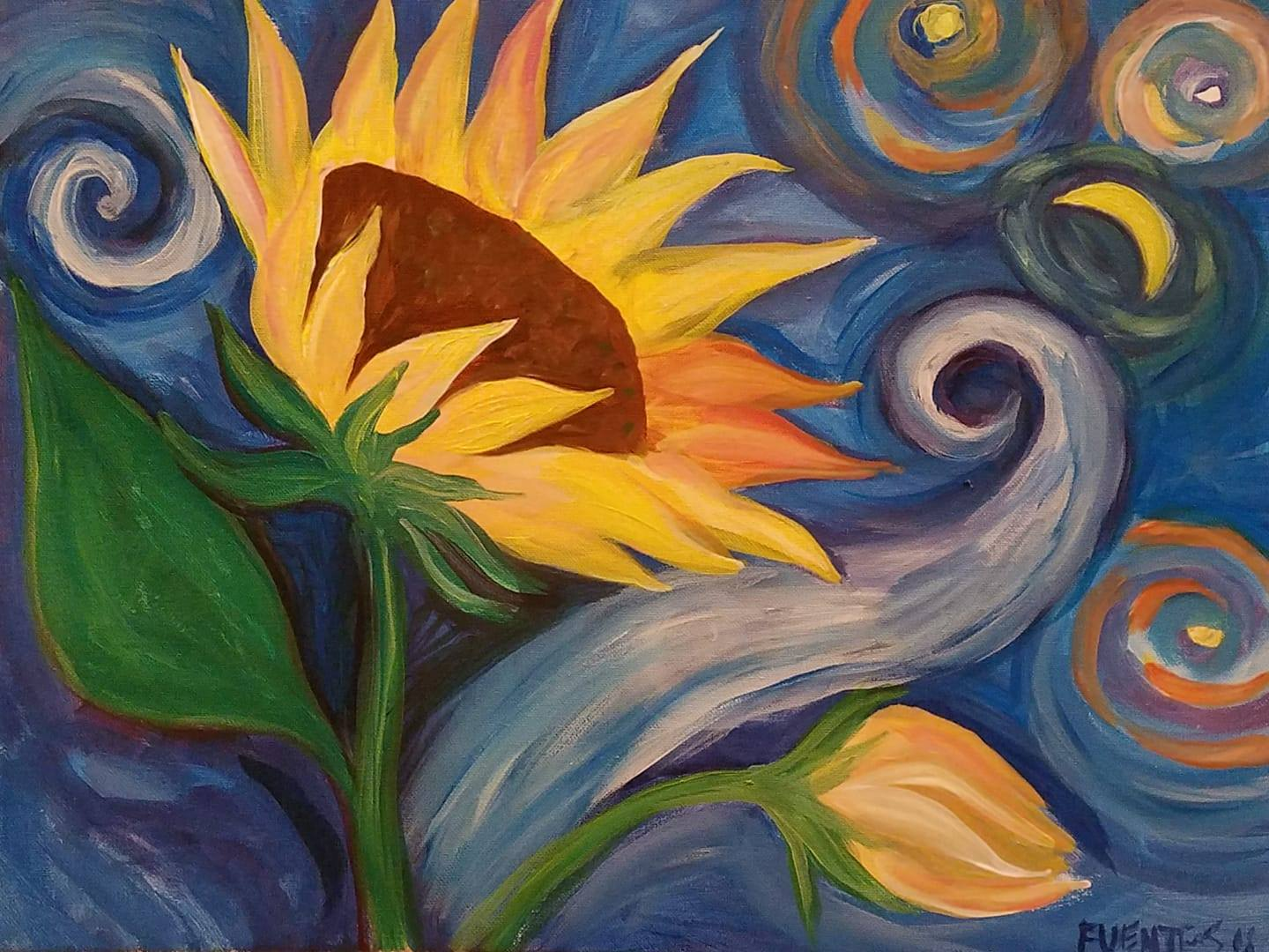 5/16  6-9pm  Paint and Sip with Judy Fuentes!
