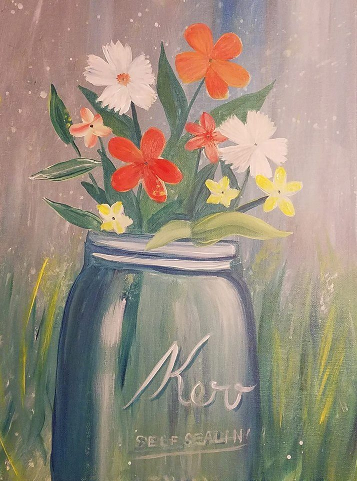 3/20   6-9pm  Paint and Sip with Judy Fuentes
