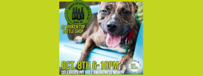 10/8  6-10pm  Pints for Pits Fundraiser!