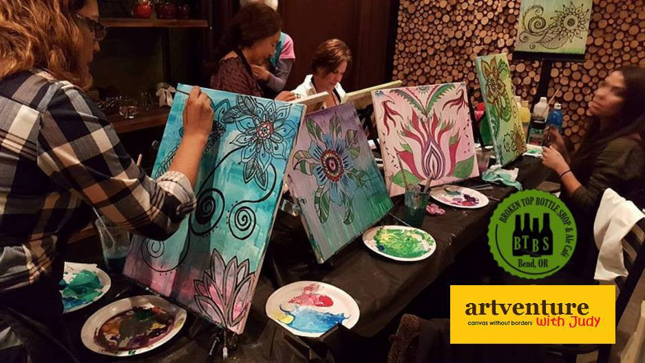 5/2  Paint and Sip with Artventure with Judy