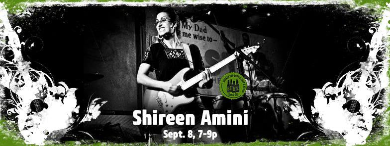 9/8 7-9pm Live Music with Shireen Amini