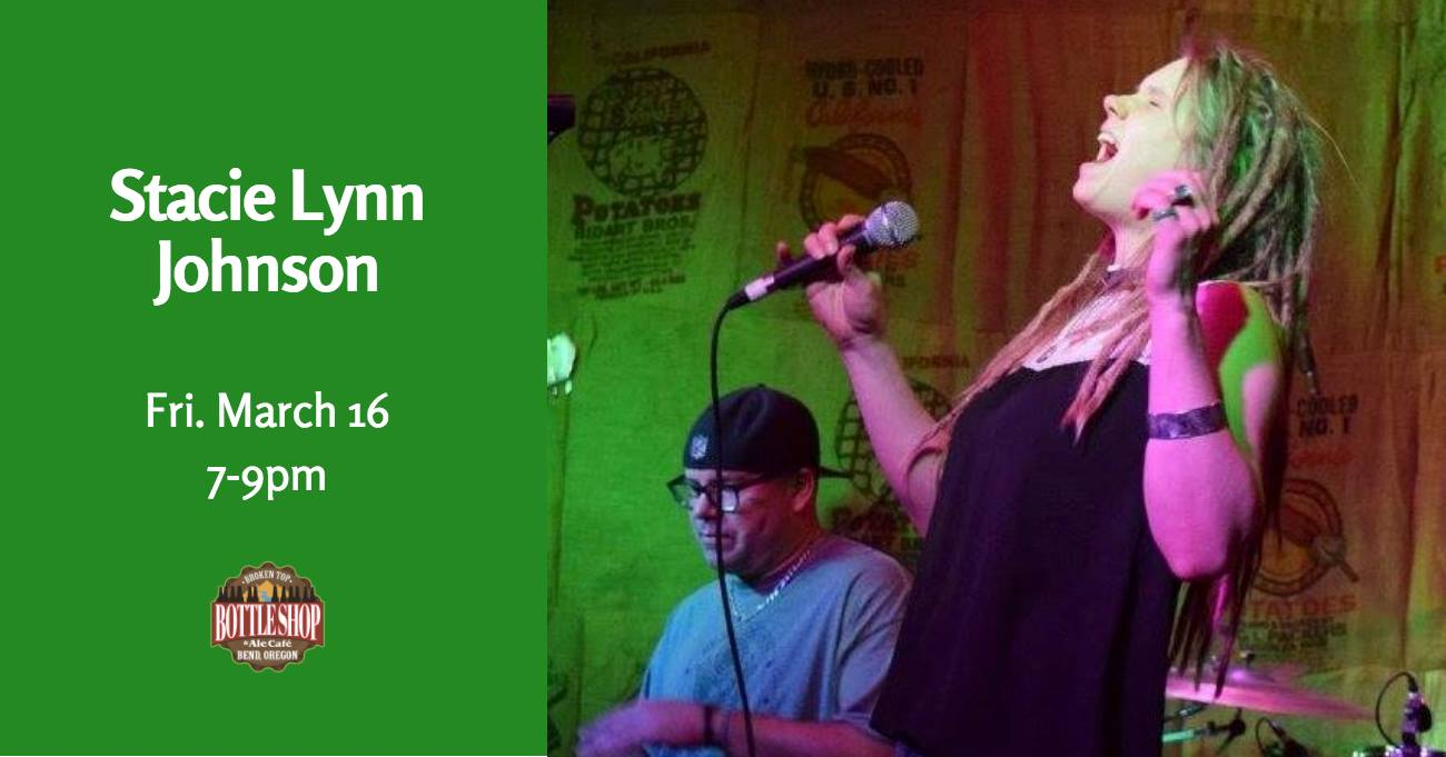 3/16  7-9pm  Live Music with Stacie Lynn Johnson