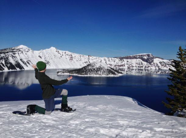 "1/24  5:30-7pm  Oregon Wild presenting ""Snowshoeing in Central Oregon"""