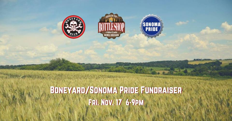 11/17  6-9pm  Boneyard/Sonoma Pride Fundraiser and Live Music with Circle of Willis!
