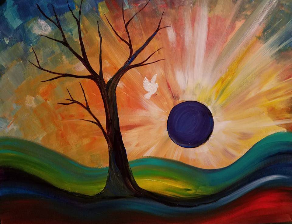 1/23  6-9pm Paint and Sip with Judy Fuentes