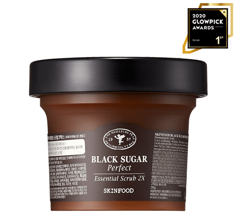 SKINFOOD Black Sugar Perfect Essential Scrub 2X - 2020 GLOWPICK WINNER - SCRUB