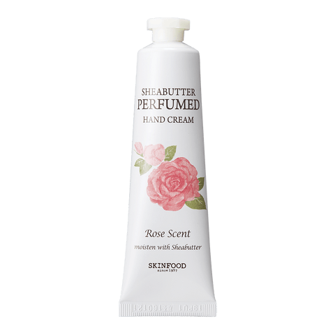 Perfumed Sheabutter Hand Cream (Rose)
