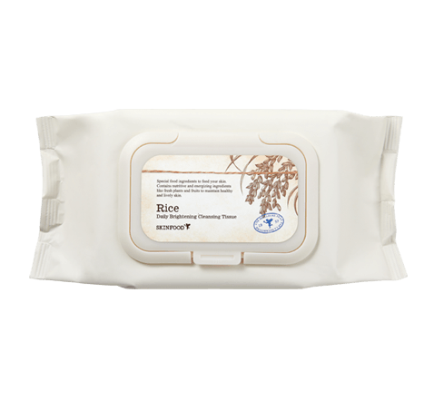 SKINFOOD Rice Daily Brightening Cleansing Tissue