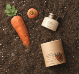 SKINFOOD Carrot Carotene Relief Cream. Carrot Extract and Carrot Seed Oil. Vegan Formula.