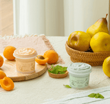 SKINFOOD Apricot Food Mask and Pear Mint Food Mask