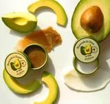 SKINFOOD Avocado & Sugar Lip Scrub and Avocado & Olive Lip Balm