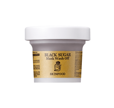 SKINFOOD Black Sugar Mask Wash Off. Exfoliate. Hydrate. Smooth.