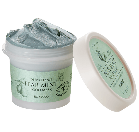 SKINFOOD Pear Mint Food Mask - Deep Cleanse