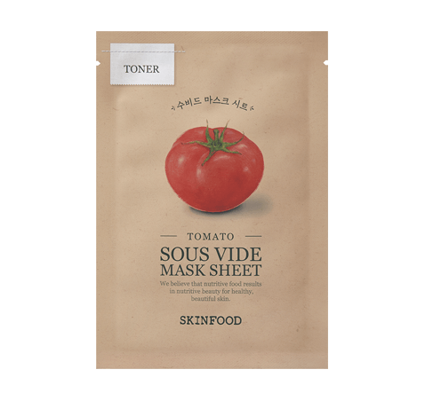 Tomato Sous Vide Mask Sheet