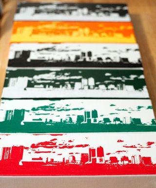 Jacksonville Florida Skyline Art