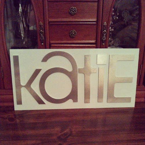 Katie Sign