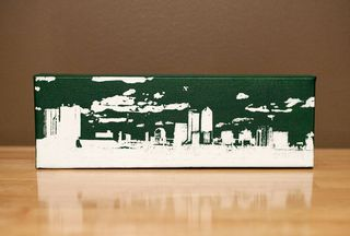 Jacksonville Skyline Canvas Art