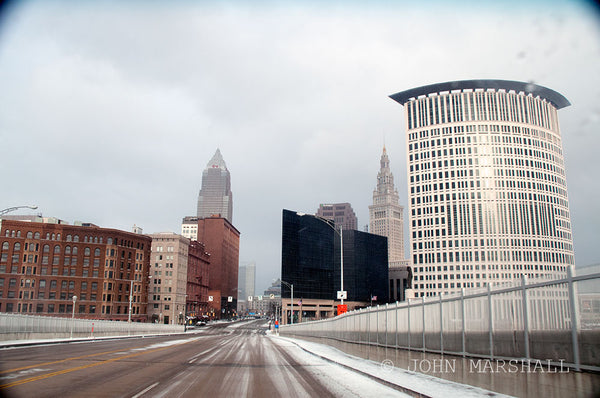 Snowy Cleveland