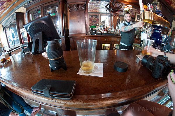 Fish Eye Bar View