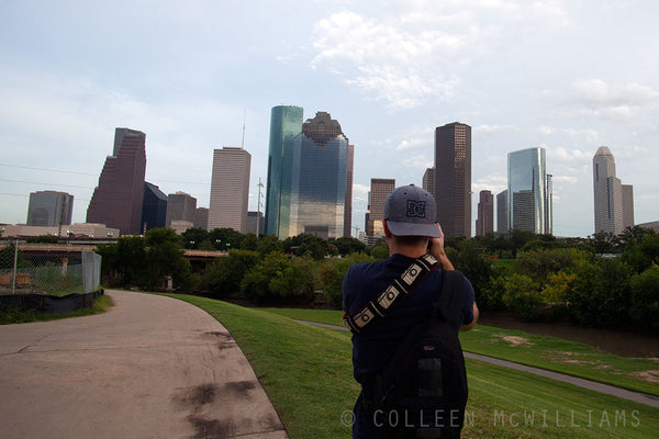 Photographing the Houston Skyline