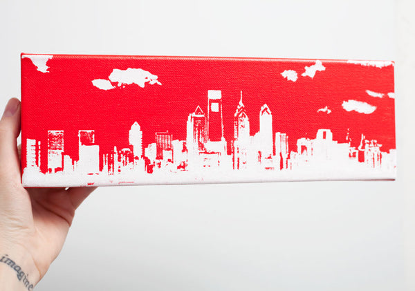 Philadelphia Skyline Canvas