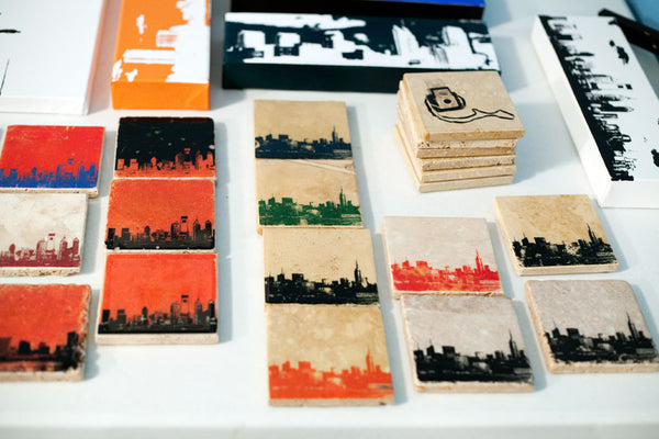 City Skyline Coasters