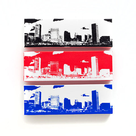 Baltimore Skyline Canvas