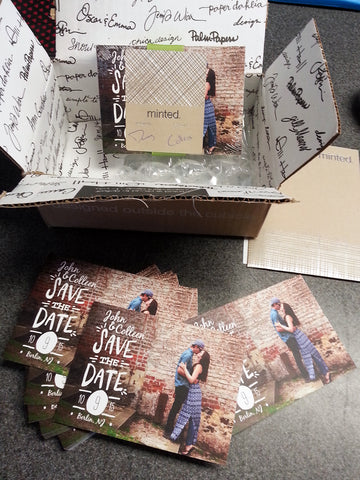 Save the Dates from Minted.com