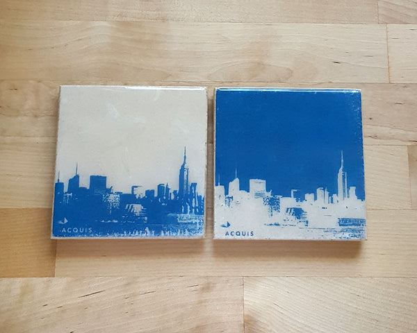 NYC Coasters with Business Logo
