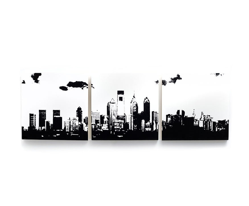 Philadelphia Skyline Large Wall Art