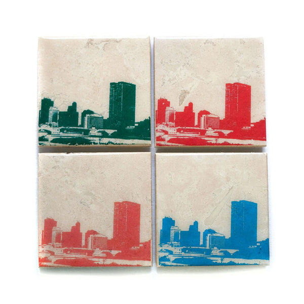 Toledo Skyline Coaster Set