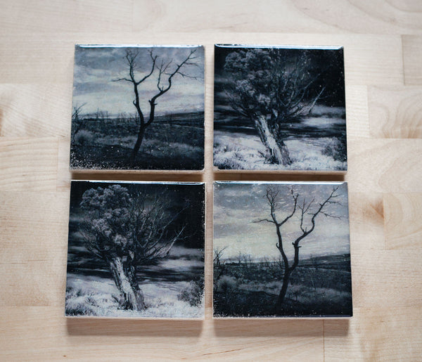 Tree Coaster Set